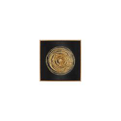 - Gold Varaklı Güneş Tablo 82x82cm
