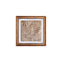 - Gold Varaklı Tablo 58x58cm