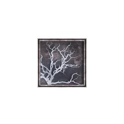 - Gümüş Varaklı Çöl Tablo 87x87cm