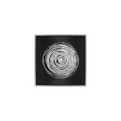 - Gümüş Varaklı Tablo 82x82cm