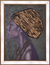 - Sarıklı Kadın Tablo 85x110cm