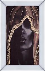 - Gold Kadın Tablo 85x110cm