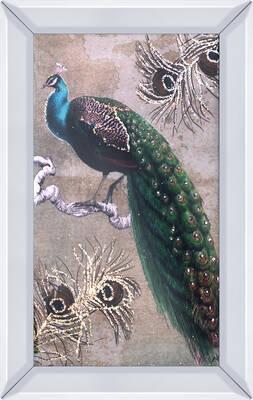 Tavus Kuşu Tablo 40x60cm