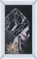 - Taşlı Kadın Tablo 40x60cm