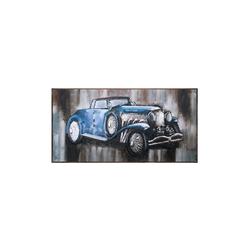 - Mavi Araba Kabartmalı Tablo