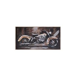 - Motosiklet Kabartmalı Tablo
