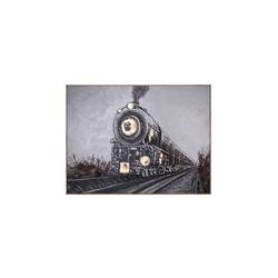 - Tren Kabartmalı Tablo
