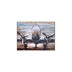 - Uçak Kabartmalı Tablo
