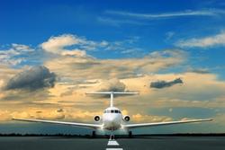 - Uçak Pisti Kanvas Tablo