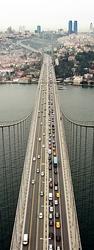 - Üstten Bakış Köprü Kanvas Tablo