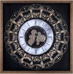 - Varak Detaylı Saat 100x100cm