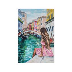 - Venedik'te Bir Genç Kız Kanvas Tablo