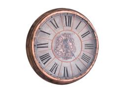 - Virginia Çarklı Bakır Saat çap 80cm