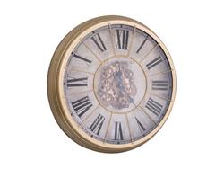 - Virginia Çarklı Gold Saat çap 80cm