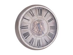 - Virginia Çarklı Gümüş Saat çap 80cm