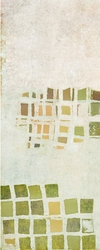 - Yeşil Pencereler Soyut 2 Kanvas Tablo